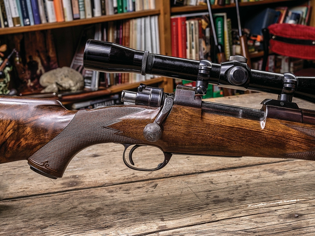 Little-known gunmaker Jules La Bantchni produced world-class rifles that were as much art as craft, as in this Mauser in .284 Winchester.