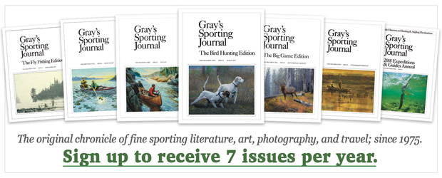 Subscribe to Grays Sporting Journal today!