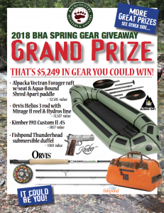 Hunting gear giveaway 2018