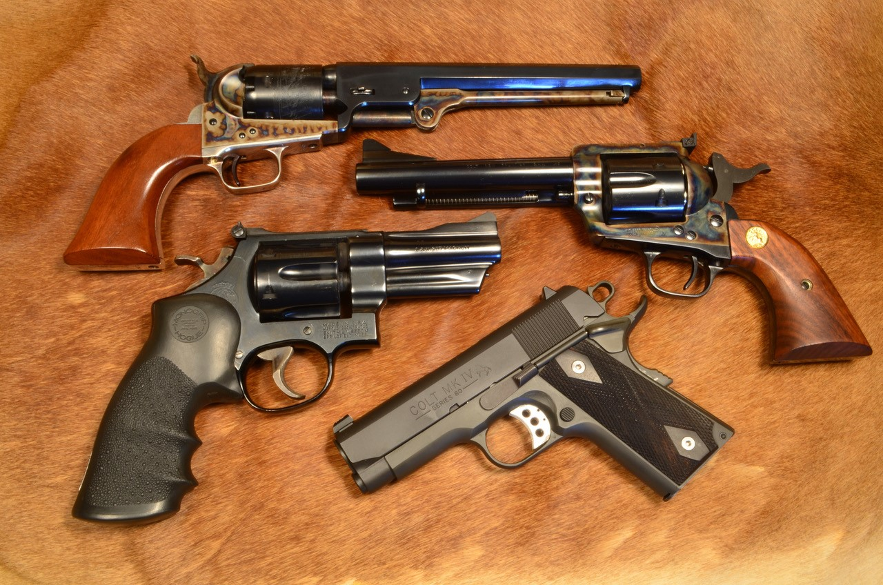 Piscatorial Musings and the Joy of Handguns